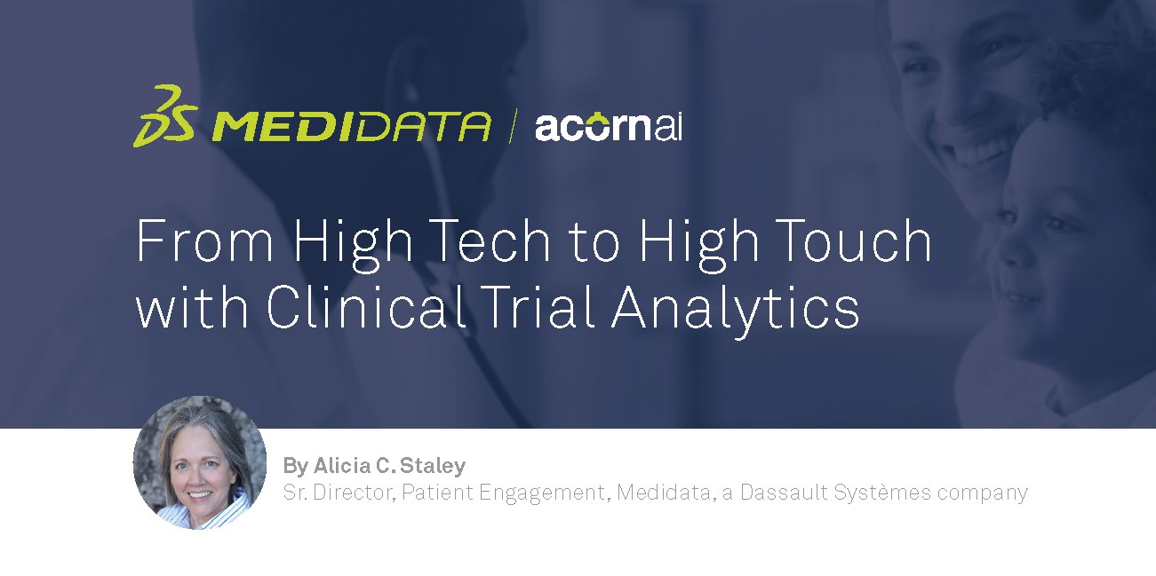 From High Tech to High Touch with Clinical Trial Analytics