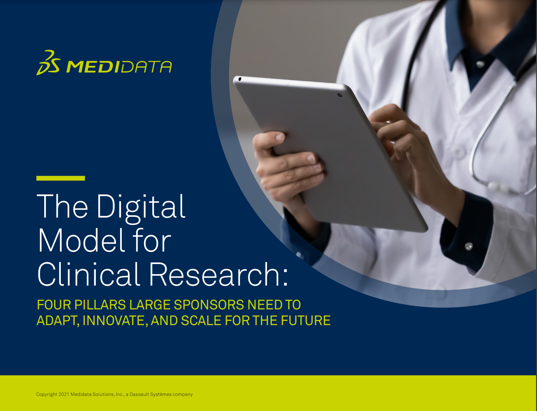 The Digital Model for Clinical Research: Four Pillars Large Sponsors Need to Adapt, Innovate, and Scale Faster